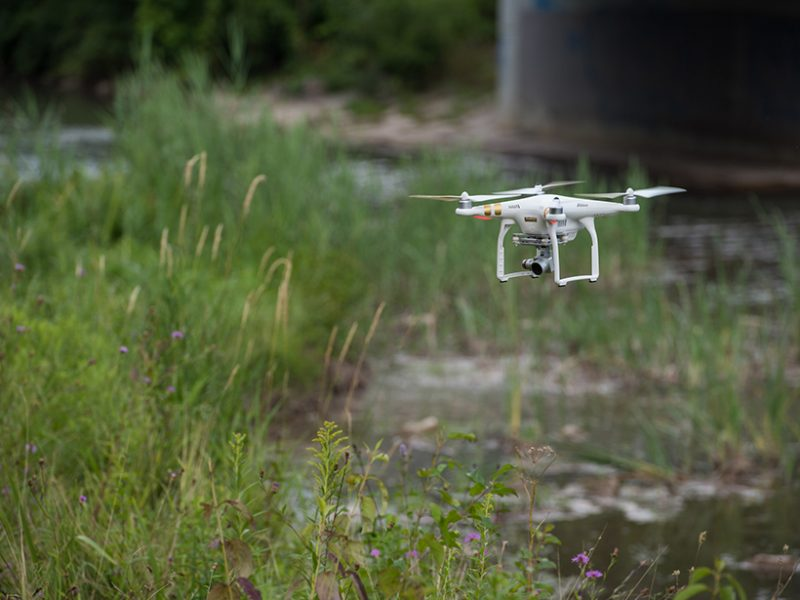 Drones in Geoscience Research: The Sky Is the Only Limit