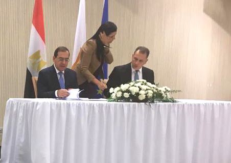 Egypt, Cyprus Signs Pipeline Agreement in Nicosia